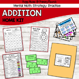 Math Fact Fluency ADDITION Tool Kit for Home