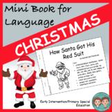 Mini Book for Language:  Christmas