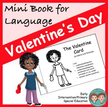 Mini Book for Language:  Valentine's Day