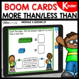 More than Less than | Boom Cards Distance Learning |Module
