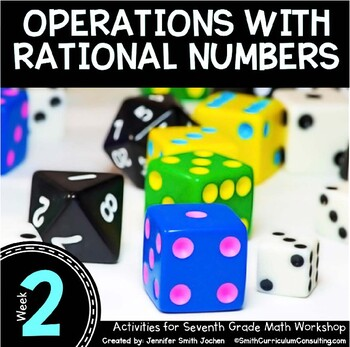 Operations with Rational Numbers   7th Math Workshop