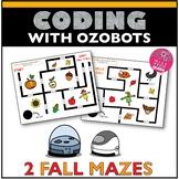 Ozobot Maze Activity Fall