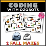 Ozobot Maze Activity Fall