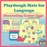 Playdough Mats for Speech and Language Therapy - Decoratin