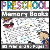 PreK Memory Book (Preschool End of Year Memory Book)