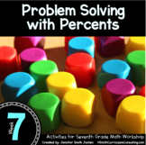 Problem Solving with Percents | 7th Math Workshop Activities