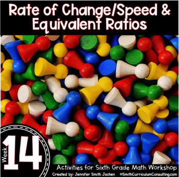 Rate of Change & Equivalent Ratios | 6th Grade Math Workshop