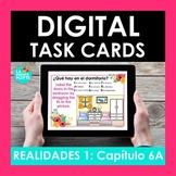 Realidades Auténtico 1 Capítulo 6A BOOM CARDS | Digital Card | Distance Learning