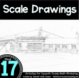 Scale Drawings   7th Grade Math Workshop   TEKS CCSS OAS Aligned