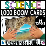 Science Distance Learning Digital Activities Boom Cards BUNDLE