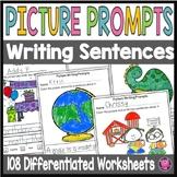 Making and Writing Sentences FALL NO PREP Writing   Kindergarten First Grade