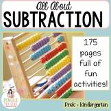 Subtraction Center Activities
