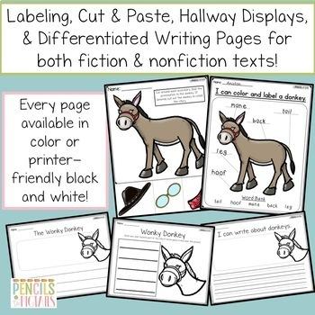 The Wonky Donkey Companion Resource - Writing, Crafts, Class Books, & More!