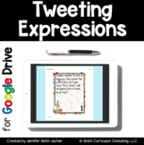 Tweeting Expressions Task Cards | Google Drive Distance Learning