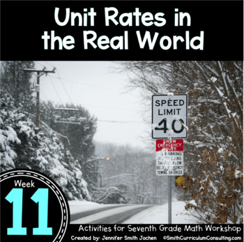 Unit Rates in the Real World | 7th Math Workshop