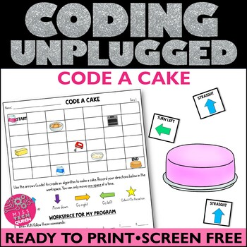Unplugged Coding Code a Cake