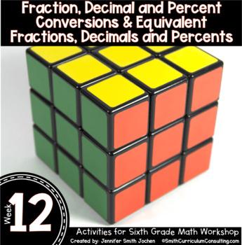 Week 9-12 of Sixth Grade Math Workshop Activities   Aligned to TEKS, CCSS, OAS