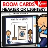 Heavier or Lighter BOOM Cards | Digital Task Cards Module 3 Lesson 8
