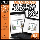 Math Self-Grading Assessments |Distance Learning|Measuring