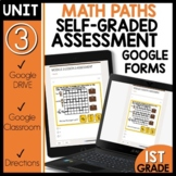 Math Self-Grading Assessments |Distance Learning| Paths
