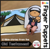Old Testament Bible Story Finger Puppets, Bible Crafts