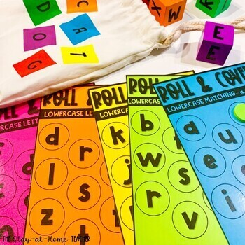 Roll and Cover Math and Literacy Activities