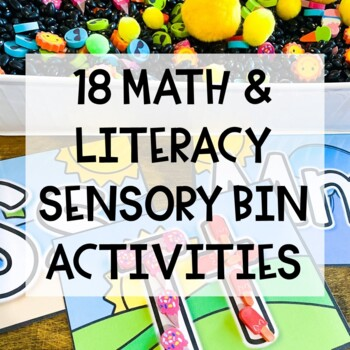 1/2 OFF 48 HOURS Summer Preschool Sensory Bin Activities
