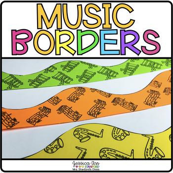 Bulletin Board Borders - MUSIC