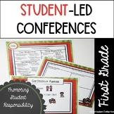 Student Led Conferences Template | First Grade Parent Teacher Conferences