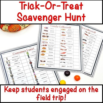 Halloween Scavenger Hunt   Halloween Activities