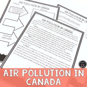 Air Pollution in Canada Reading Activity (SS6G6, SS6G6a)