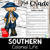Southern Colonies Reading Activity Packet (SS3H3)