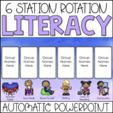 Center Rotation PowerPoint Chart | Watercolor