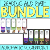 Guided Reading and Math Center Rotation Bundle