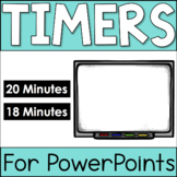PowerPoint Timers - 18 minutes and 20 minutes