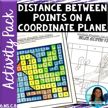 Distance Between Points Activity Pack 6.NS.C.8