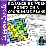 Distance Between Two Points Lesson Bundle 6.NS.C.8