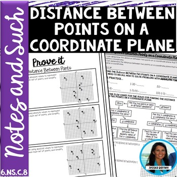 Distance Between Two Points Notes and Such 6.NS.C.8
