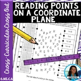 Reading Points on a Coordinate Plane Cross Out 6.NS.C.6