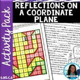 Reflections on a Coordinate Plane Activity Pack 6.NS.C.6