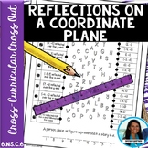 Reflections on a Coordinate Plane Cross Out Activity 6.NS.C.6