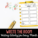 Write the Room All Year Long in English and Spanish