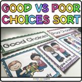 Good vs Bad Choices | Behavior Sort for Back to School