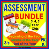 Kindergarten Assessments | Preschool Assessments 3 Year Ol
