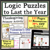 Digital Logic Puzzles Worksheets Through Google Doc. Overl