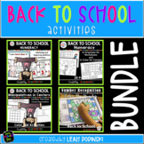 1/2 OFF! Back to School Numeracy and Subitizing Activities