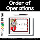 Order of Operations Task Cards for Google Drive | Distance