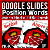 Positional Words Activities | Mary Had a Little Lamb Googl