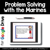 Problem Solving with Marines Cards Google Drive Distance Learning