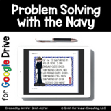 Problem Solving with Navy Cards Google Drive Distance Learning